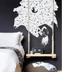 Constellation Stars Falling Woman Wall Decal The Decal Guru