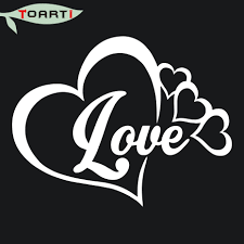 Love Heart Infinity Forever Symbol Vinyl Decal Car Window Bumper Sticker Family Auto Parts And Vehicles Car Truck Graphics Decals Magenta Cl