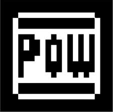 Pow 8 Bit Block Super Mario Bros Vinyl Die Cut Decal Sticker Texas Die Cuts