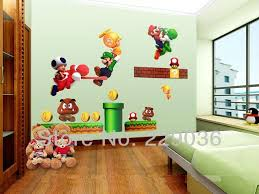 Wholesale Super Mario Brother Cartoons Wall Sticker For Kids Room Diy Art Decor Removable Vinyl Decals 70 50cm Girls Wall Decals Girls Wall Stickers From Homegarden 8 16 Dhgate Com