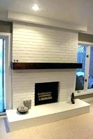 painted fireplace ideas painting brick