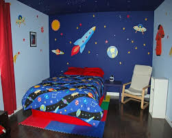 22 Space Themed Room Design Ideas For A New Atmosphere In Your Home Space Themed Bedroom Boys Bedroom Colors Space Themed Room