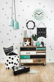 Contemporary Kids Rooms Decor I M Loving The Mint Green Turquoise Black White Colors And Wood Textur Kid Room Decor Kids Room Inspiration Kids Room Design