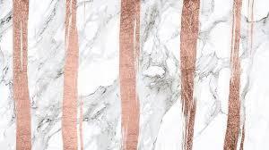 desktop wallpaper rose gold marble