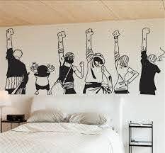 One Piece Wall Sticker Price 14 70 Free Shipping Onepiecefan Decoracion De Muros Decoracion De La Habitacion Diy Decoracion Habitacion