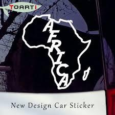 Africa Vinyl Decal Sticker For Car Styling Window Wall Bumper Laptop Continent African Cartoon Map Art Decals Accessories Vinyl Decals Stickers Decal Stickervinyl Decal Aliexpress
