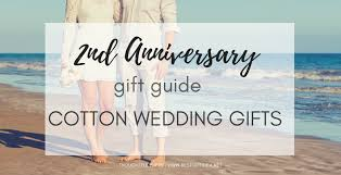 second wedding anniversary gift guide