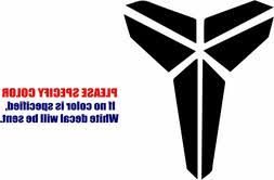 Black Mamba Kobe Graphic Die Cut Decal Sticker