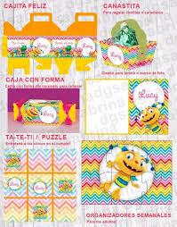 Kit Imprimible Henry Monstruito Invitaciones Candy Bar Cajas