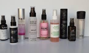 makeup setting spray for oily skin diy