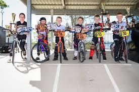 Bundaberg junior BMX riders, Abby Stevens, Samuel Sanderson, Zach Cooper,  ... | Buy Photos Online | Northern Star