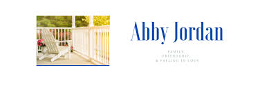 Abby Jordan Books – Family, friendship, and falling in love.