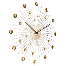 karlsson sunburst large wall clock