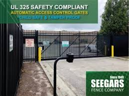 Access Control Gates Seegars Fence Company