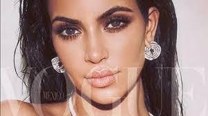 kim kardashian makeup tutorial makeup