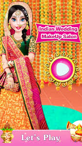 indian wedding makeover game app for