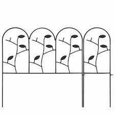 18 Inch Garden Fence 7ft Decorative Garden Fencing Rustproof Iron Animal Barrier 705353507380 Ebay