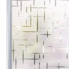 90 200 Cm Privacy White Cross Self Adhesive Frosted Window Film Static Cling Decorative Glass Window Sticker Uv Blocking Decals Y200416 Decal Stickers For Trucks Decal Vinyl Stickers From Shanye10 21 4 Dhgate Com