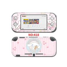 For Nintend Switch Lite Protective Sticker Vinyl Decal Protector Skin For Cinnamoroll Nintendo Switch Lite Ns Accessories Stickers Aliexpress
