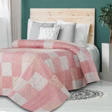 soft pink quilts bedspreads