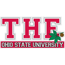 Amazon Com The Ohio State University Buckeyes Metal Auto Emblem With Red Trim Automotive