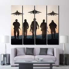 2020 Canvas Airplane Sunset Army Posters And Prints Wall Decorations Living Room Decor Poster Print Up 1327d From Kittyfang 35 13 Dhgate Com