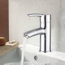 one hole bathroom sink faucets