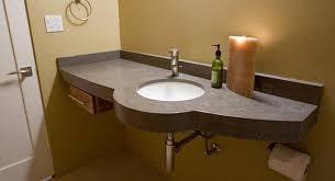 sink types for bathroom countertops