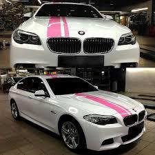 Car Decal Racing Dual Stripe Pink 9 5 For 3 Series 323 325 330 335 Vinyl Hood Roof Rear Motor Sticker Zc699 Racing Stripe Decals Car Hood Decalsdecals For Cars Aliexpress