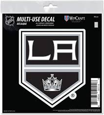 Amazon Com Los Angeles Kings 6 Decal Reusable Die Cut Logo Style Vinyl Auto Home Hockey Sports Outdoors