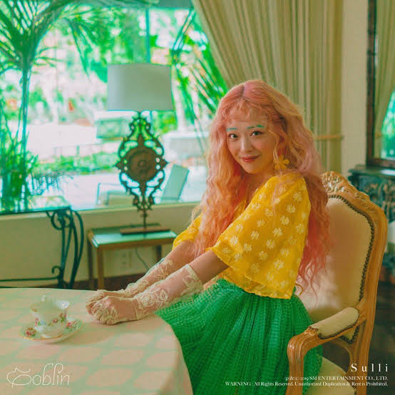 "Sulli Goes Back To Her f(x) Roots With ""Goblin"". 1"