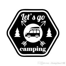 2020 14 5 13cm Interesting Lett Go Camping Car Window Vinyl Decal Car Sticker Ca 1176 From Zhangchao188 0 8 Dhgate Com