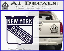 New York Rangers Decal Sticker A1 Decals