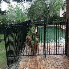 China White Black Pool Safe Fencing Aluminum Pool Fence Garden Fence Fence Panel Aluminum Fence China Fence Panel Aluminum Fence