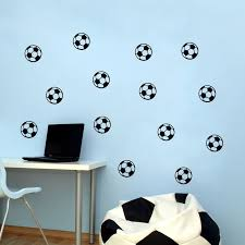 Diy Football Soccer Ball Wall Stickers Home Kids Baby Boys Room Mural Self Adhesive Vinyl Art Wall Decals Wall Decals Stickers Homewall Sticker Aliexpress