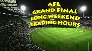 AFL Grand Final Public Holiday hours ...