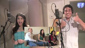 """Arielle and Adam Jacobs """" WHOLE NEW WORLD"""" surprise video - YouTube"""