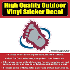 Products Tagged Yeti Foot Colorado Sticker