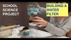 homemade water filter step by step