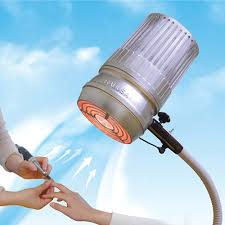 led light nail dust collector