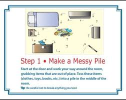 Kids Chore Chart The Step By Step System To Clean A Messy Bedroom The Home Of Times Tales