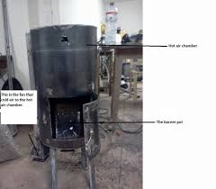 homemade pellet burner for existing