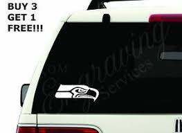 Seattle Seahawks Nfl 5 5 X2 3 Car Window Decal Sticker Truck Laptop Ebay