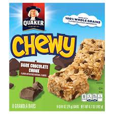 quaker chewy 90 calorie granola bar