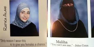 quotes unik hijaber di dalam buku alumni bikin ngakak dream