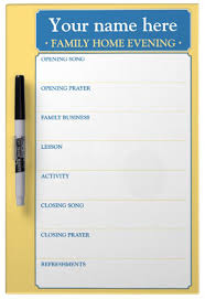 ryan s lds quotes family home evening assignment chart order