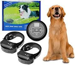 N N Gps Wireless Dog Fence System Anti Barking Dog Collar Pet Containment System Waterproof Rechargeable Collar Anti Bark Training Shock Tone Correction Distance Adjustment Max 500m 1 Dog Amazon Co Uk Pet Supplies