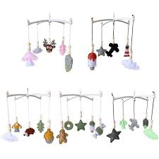 Super Promo 18174a Baby Crib Mobile Rattle Felt Wind Chime Pendant Bed Bell Toys Kids Room Decor F3me Cicig Co