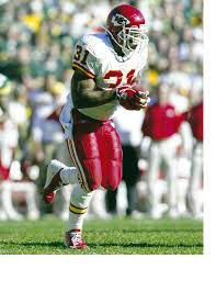 8x10 photo football Priest Holmes, Kansas City Chiefs for sale online