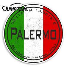 Palermo Italy Vinyl Stickers Italian Flag Sticker Luggagewaterproof Car Decal Trunk Car Accessories Wish